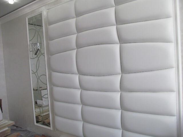 купить мягкие кожаные стены