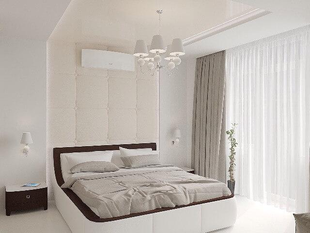 В основном кожаные панели используют для установки на стенах, также могут использоваться как изголовья кровати. Также возможно сделать раздвижные двери, обитые кожей в шкафах купе.