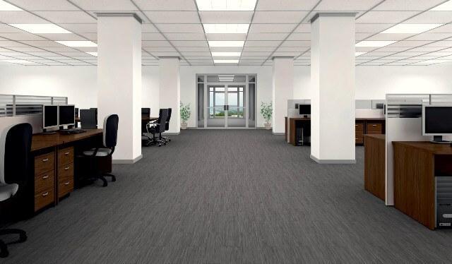 В офисах, где нагрузка на пол не очень большая наиболее стоящим вариантом будет использование 31 класса