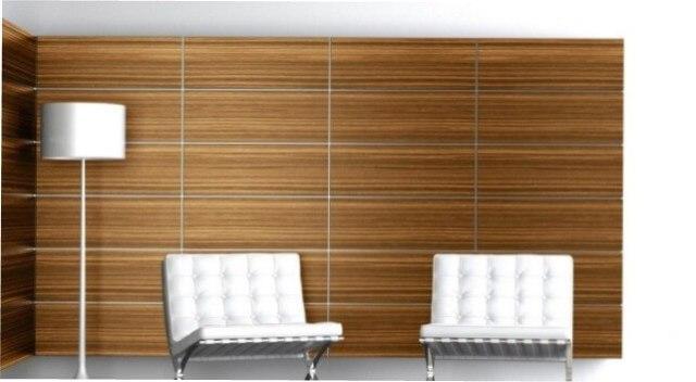 Оформление панелями офисов, рабочих кабинетов