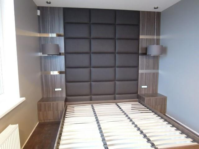 Варианты мягких панелей для стен