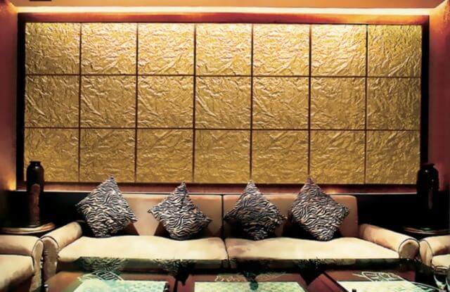 как украсить стены ресторана панелями 3-D