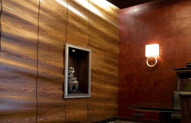 красивые панели из мдф для отделки стен
