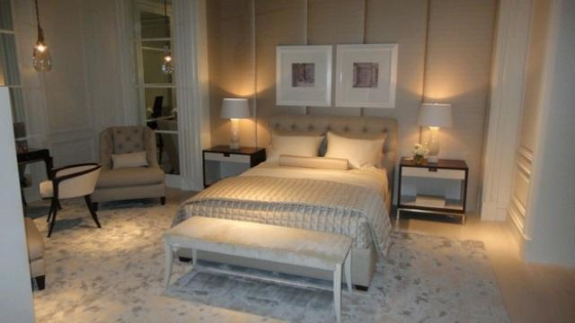 Мягкие стеновые панели для спальни. Заказать в Киеве
