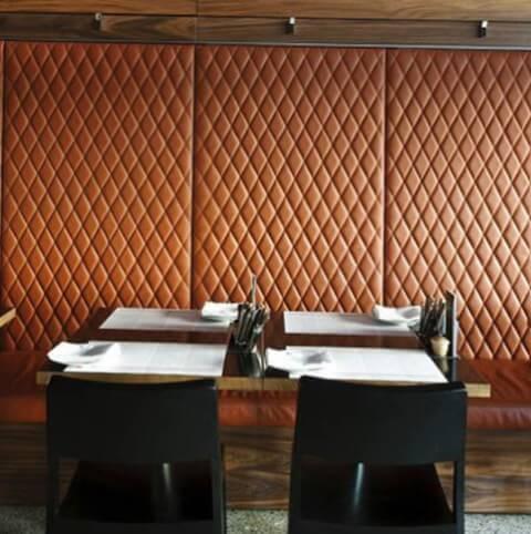 Мягкие 3 Д панели для оформления стен ресторанов