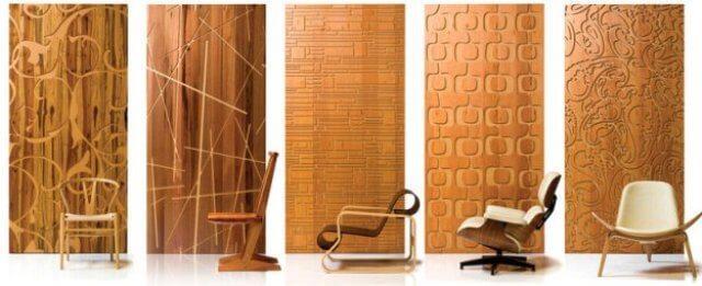 3d стеновые панели из дерева